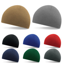8 Color Men Slouch Skull Cap Beanie Women Baggy Winter Warm Cap Crochet Knit Hat New