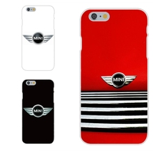 bmw mini cooper logo Soft TPU Silicon Luxury For Apple iPhone 4 4S 5 5C SE 6 6S 7 7S Plus 4.7 5.5
