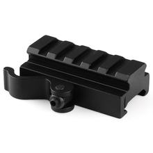 New Rifle Flat Top Folding Carry Handle for Picatinny / Weaver Rail 21mm M60 Style Black(China)