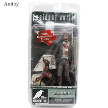 NECA Official Resident Evil 10th Anniversary Zombie 7 Inch Action Figure KT4021
