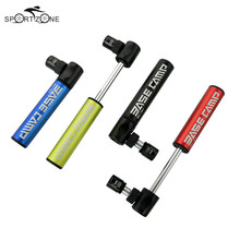 Mini Aluminum Alloy Bike Pump 4Color Urltra-Light Bicycle Tyre Air Pump Mountain Cycling Tire Ball Inflator to Presta Conversion