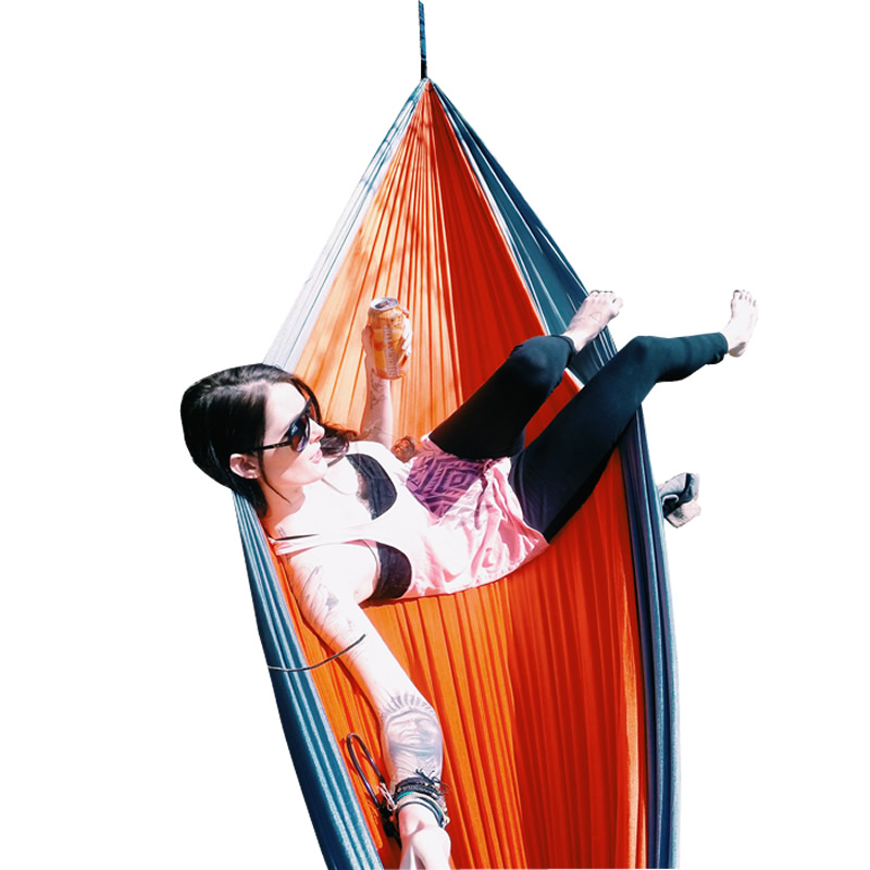 GD# Portable 300 Kg Load-Bearing Outdoor Garden Hammock Hang Bed Travel Camping Swing Survival Outdoor Sleeping<br><br>Aliexpress