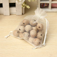 Best Promotion 24pcs beads one Bag Cedar Wood Moth Balls Repellent Natural Wardrobe Clothes Drawer Lowest Price