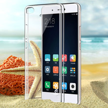 Imak Cover for Xiaomi 5s Plus Transparent Crystal Clear Hard PC Back Cover Case for Mi 5s Plus Cheap Phone Cases Fundas Coque(China)