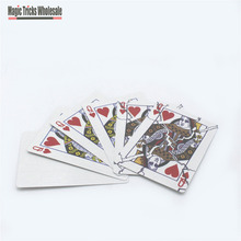Fast Broken Queen Print Magic Tricks Close up Street Trick Professional Card Trick Wholesale and Retail