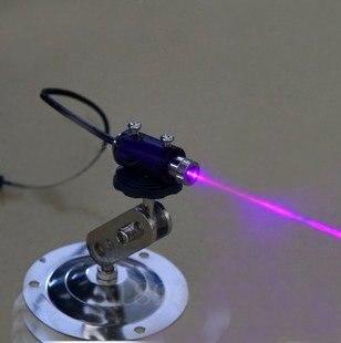 100mW 405nm adjustable focus laser diode module  + free adjustable holder +free safety glasses<br><br>Aliexpress
