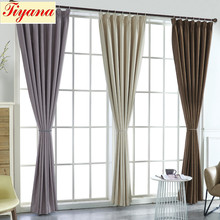 Velvet Curtains Grommet Half Blackout Drapes for Bedroom Solid Luxury Room Darkening Window Panels Thermal Insulated WP080 *30(China)