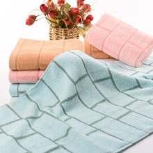 bath towel cotton towels gym sport set towl hotel cheap beach bathroom towels christmas gift 33cm x 73cm(China)