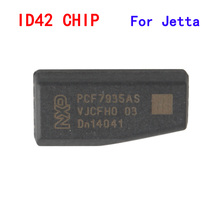 High Quality ! ID42 Carbon Auto Transponder Ceramic Car Blank Key Chip For Jetta