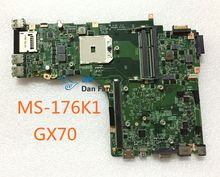 For MSI GX70 Laptop Motherboard MS-176K1 VER:1.0 Mainboard 100%tested fully work