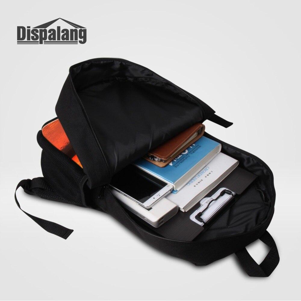 Zoo Animal Bear Leopard Tiger Boy Cool Backpack Custom Schoolbags 16 Inch Large Capacity Bookbag Men Travel Shoulder Bag Bagpack