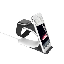 Desktop Charger Dock Station Phone Holder Charger Mount Mobile Phone Stand Bracket Cradle for IPhone  Apple Watch Samsung Tablet