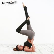 Buy Women Patchwork Yoga Pants Fitness Sport Leggings Tights Slim Workout Running Pants Sportswear Sports Pants Quick Dry Trousers for $15.99 in AliExpress store