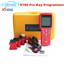 Original Xtool Auto Key Programmer X100 PRO Supports Multi-Brand Cars Key Programming Immobilizer Reset ECM X 100 Pro Full Sets(China)