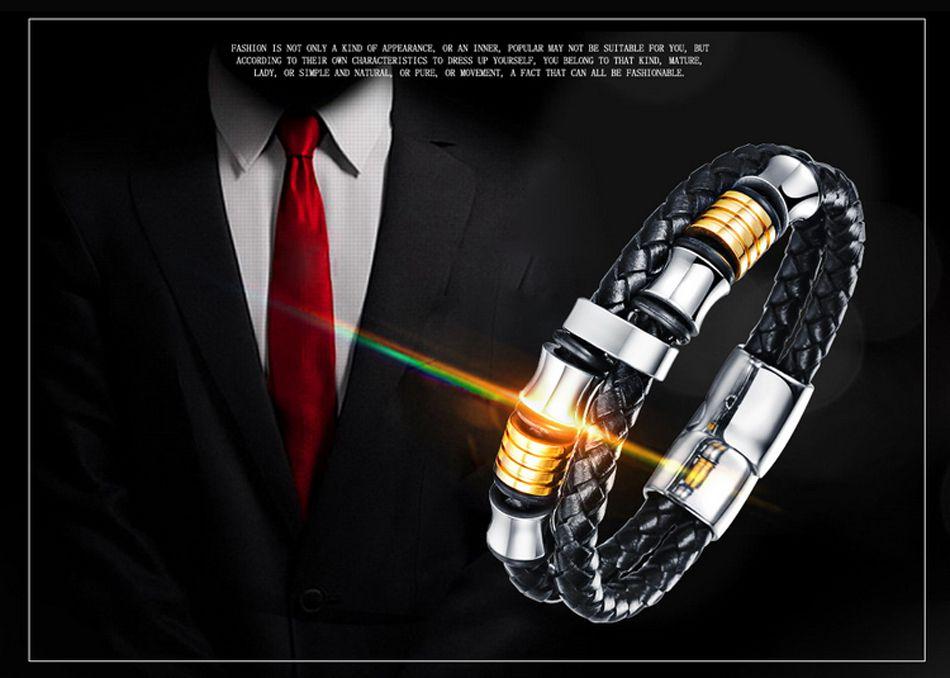 1-Leather Bracelet