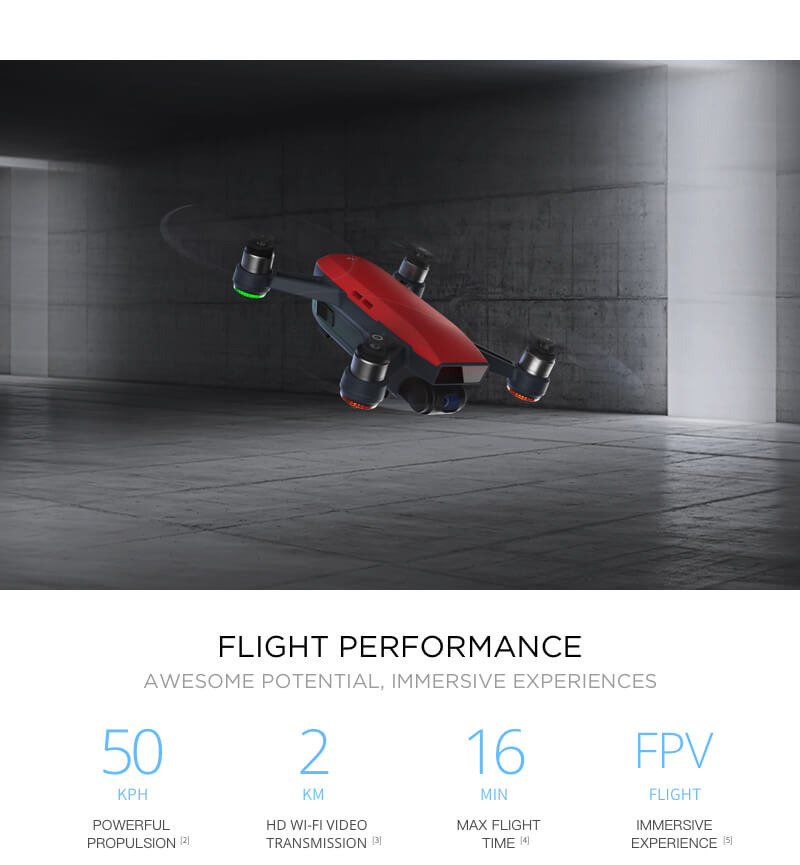 DJI Spark fly more combo Mini Drone Pocket Drone with remote control RTF drone WiFi FPV With 4K HD Camera VS xiao mi drone