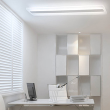 LED long striped ceiling lamp  application office bedroom balcony aisle corridor rectangular living room entrance bathroom light