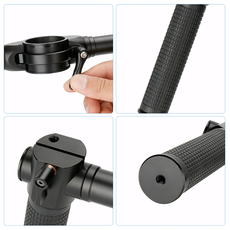 Stabilizer Grip Gimbal Dual Handle Extended Handle holder For Zhiyun Crane 2 Crane V2 Crane Plus Crane M Gimbal 06