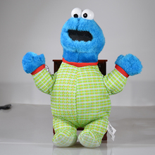 New Style Cookie Monster Plush Toy From Sesame Street 30cm(China)