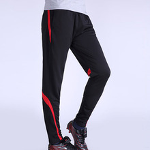 2016 Survetement football pants thin legs soccer tracksuit skinny Men Volleyball Trousers soccer jersey soccer training pants