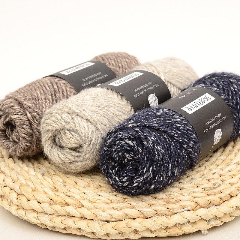 Веревочная пряжа для ручного вязания 17