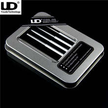 Original Youde UD Coil Jig All in One Set  4 hexagonal shape sticks Electronic Cigarette DIY Coil Maker Tool Kit Adjusting Coil