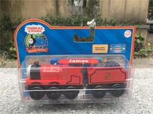 KK01--Learning Curve Thomas & Friends Take N Play Wooden Magnetic Toy Train James with Tender New(China)