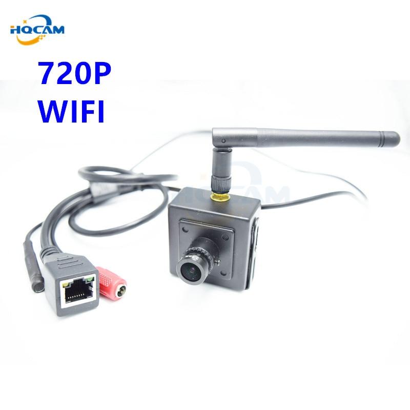 HQCAM Mini Ip Camera Wifi Camera 720P Mini Security Wireless Security Home System Onvif Webcam Audio Camera Seguridad Vigilancia<br>