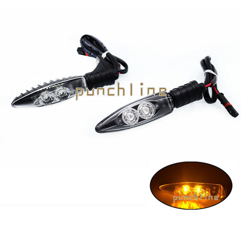 For BMW C650 Sport 2015-2016 C600GT Motorcycle Motorcycle Accessories Front/Rear LED Turn Signal Indicator Light Blinker#Short<br>