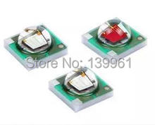 10pcs/lot Cree XPE XP-E 1-3W LED Emitter Red Green Blue Amber white LED