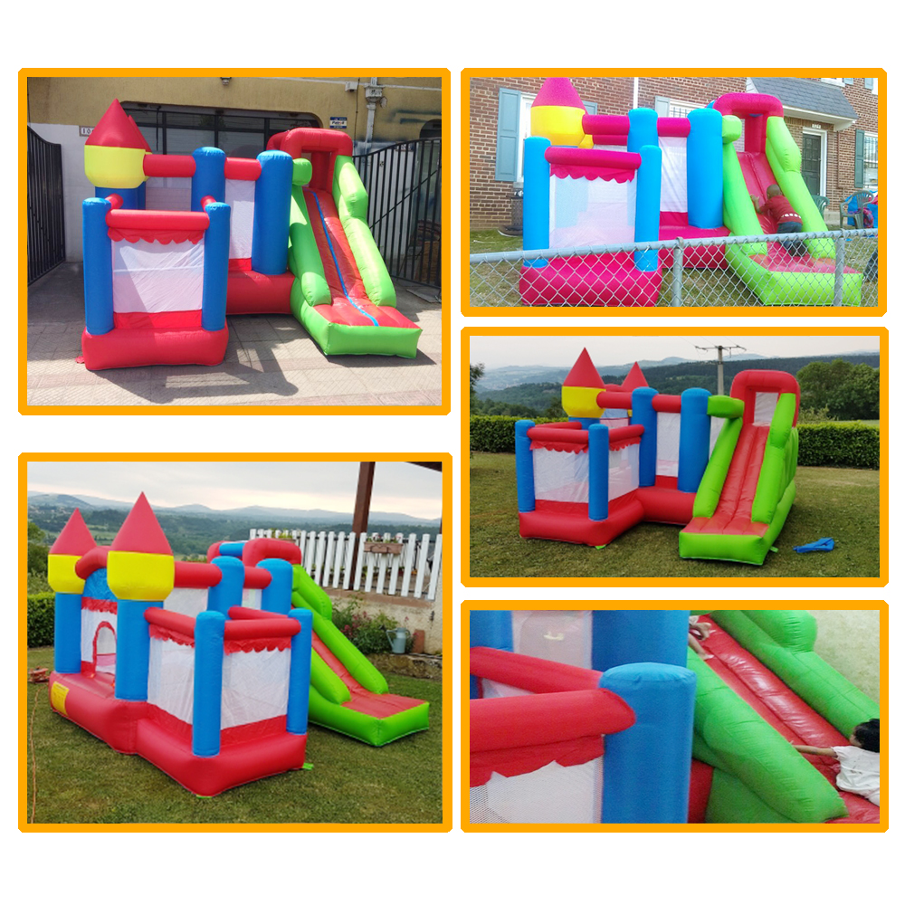 6063 inflatable bounce house bouncer castle jumper (2)