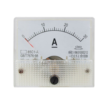 MYLB-85C1 Analog Current Panel Meter DC 30A AMP Ammeter(China)