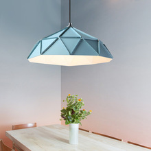Scandinavian Style Modern Simple Creative Work Office Restaurant Iron Fashion Single Head Bar Counter Pot Small pendant light