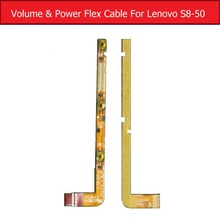 Buy 100% Genuine Volume & Power flex cable Lenovo Tab S8-50 side keypad switch button flex ribbon tablet replacement parts for $1.23 in AliExpress store