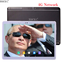 4G LTE 10.1 inch BMXC Brand Call Phone Tablet PC Octa Core inch Dual SIM Card tablet Android 7.0 WIFI GPS Bluetooth netbook(China)
