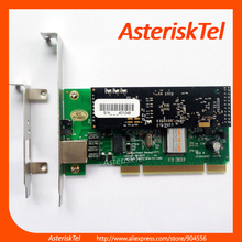 Asterisk Card TE122P Single Port E1 T1 Card+ Echo Cancel. Hardware VPMADT032, digium card ISDN PRI SS7 For Elastix FreePBX(China)