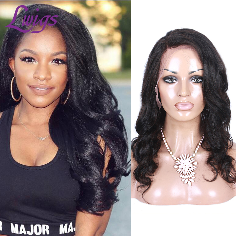 Lace Front Human Hair Wigs Peruvian Virgin Hair Side Part Body Full Lace Human Hair Wigs For Black Women Lace Wigs<br><br>Aliexpress