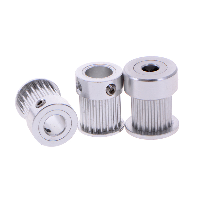 20 Teeth GT2 Timing Pulley For 3D Printer Bore 5/ 6.35/ 8mm For Aluminium Gear