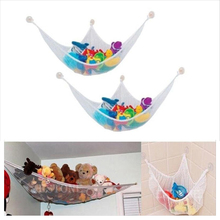 White Practical Toys Hammock Keep Baby Playroom Tidy Storage Baby Toy Holder 120*90*90cm 80*60*60cm 140*80*80cm 140*90*90cm