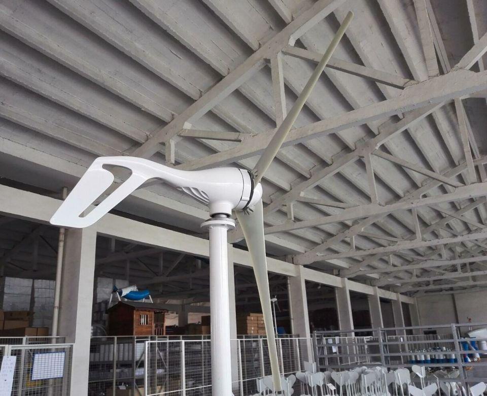S3 400W Wind Turbine Wind Generator Wind Mill With 600W Wind Charge Controller (3)