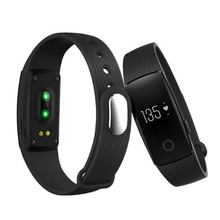 ID107 Activity Fitness Tracker Heart Rate Monitor Smart Wristband Bluetooth id 107 watch PK Fitbit Xiomi Mi Band 2 Bracelet