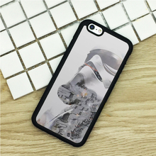 TPU Phone Cases For iPhone 6 6S 7 Plus 5 5S 5C SE 4 4S ipod touch 4 5 6 Cover Shell Star Wars Droid Stormtrooper Black Rubber