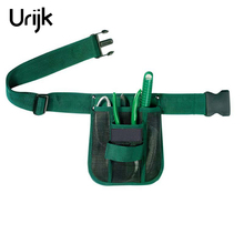 Urijk Multifunctional Garden Tool Bags Waist Pockets Woodworking Waist Belt Tools Bag Electricians Tool Pouch Kit Bag