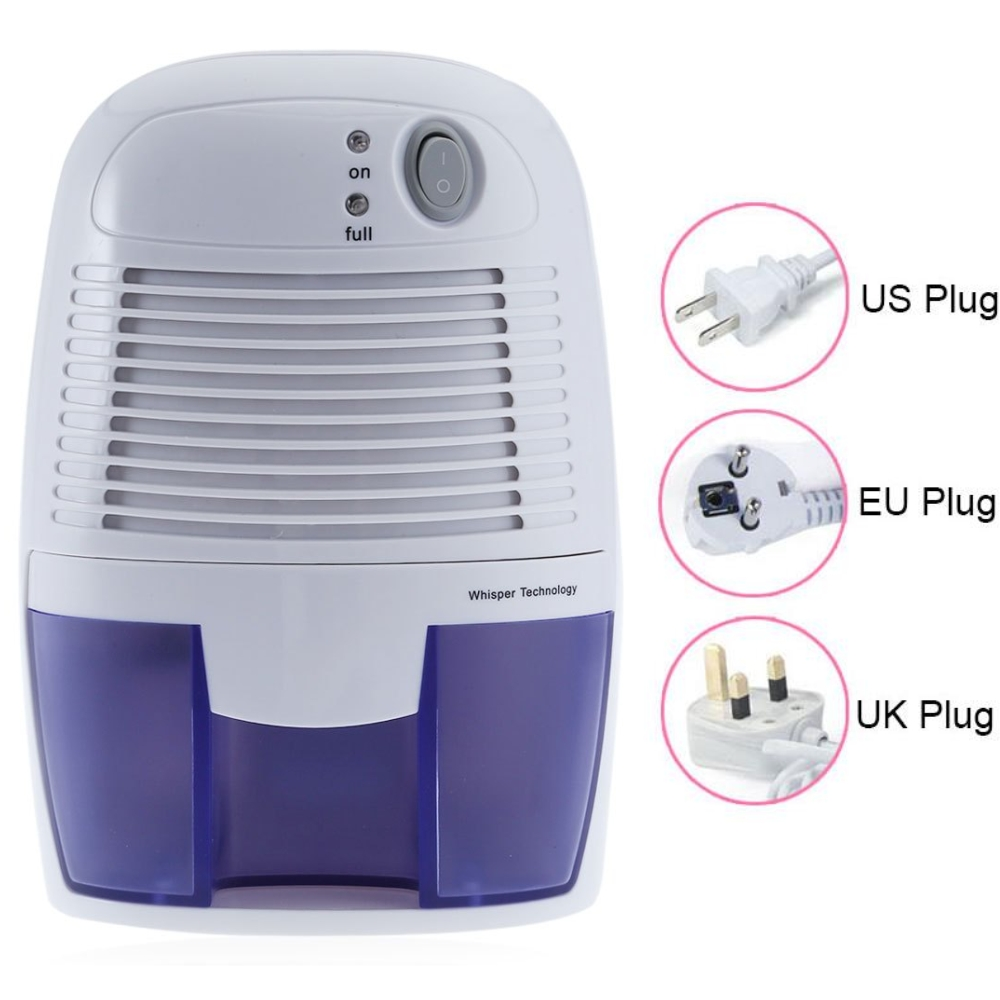 Home Appliance Portable Mini Dehumidifier Electric Quiet Air Dryer 100V 220V Compatible Air Dehumidifier for Home<br>
