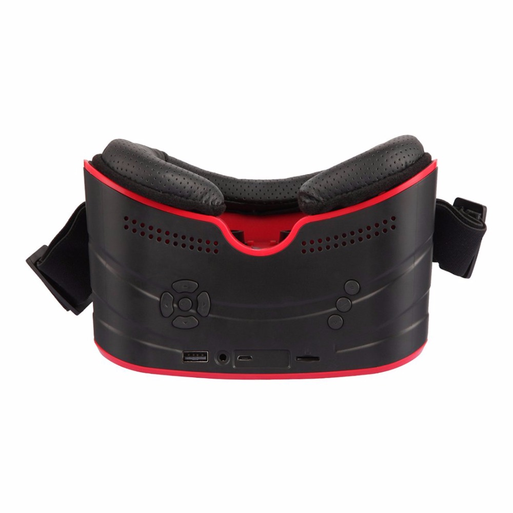All-in-one VR BOX Virtual Reality 1080P HD Head Mount Headset 3D Glasses Touchpad Wifi/Bluetooth free shipping