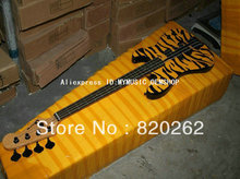 Wholesale Newest Tiger 4 Strings Electric Bass High Quality Best Free Shipping