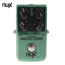 NUX Drive Core Electric Guitar Effect Pedal Mixture of Boost and Overdrive Sound True Bypass Guitarra Accessories