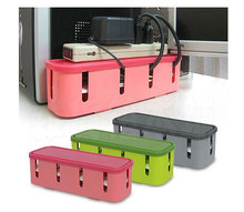 New Safety Socket Outlet Board Case Power Strip Storage Boxes Electric Wire Cables Container Organizers
