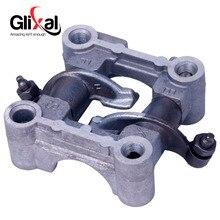 Glixal GY6 49cc 50cc Scooter Moped ATV Cam shaft Holder bracket rocker Arms assy 139QMB 139QMA Engine (64mm & 69mm Valve)