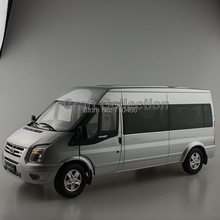 Special Offer 1/18 FORD TRANSIT 2014 V348 MPV Van Diecast Model Commercial Vehicle Rare Collection Brinquedos